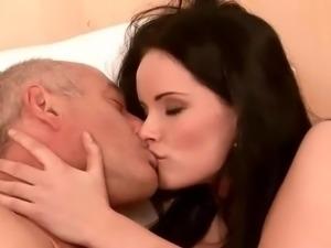 The best of Grandpas make love females