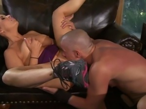 Vanilla Deville is a lovely busty woman. Dark haired big racked woman parts...