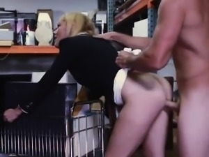 Carli banks blowjob Hot Milf Banged At The PawnSHop