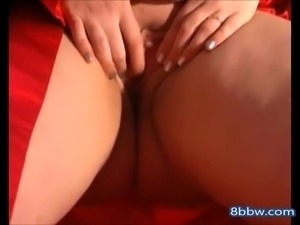 Chubby Teen Loves Fingering Her Ass and pussy