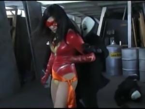 Supergirl kicks ass