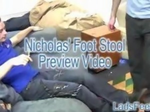 Nicholas Foot Stool HD