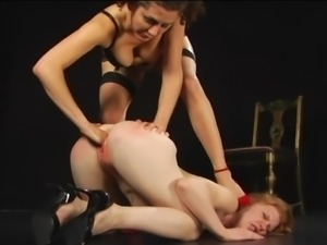 Hardcore fetish with two horny whores
