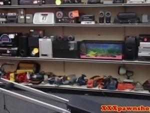 Real ebony pawnshop amateur shows off body