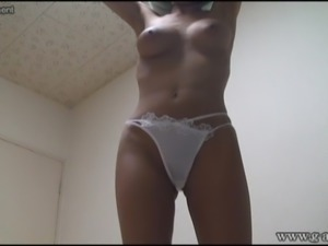 Japanese girl bikini on webcam