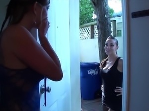 Lesbian Foot Worship - 012 (Sasha Foxx + Taylor Raz)