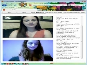 Chatroulette is Fun #4 ►  [LIVESQUIRT EU]