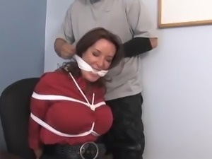 bondage in office