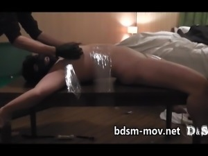 Housewife of frustrated around 40.wand and fucking machine