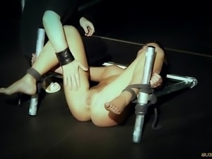 Submissive Slave Julie Skyhigh Fucked In Bdsm