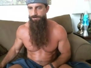 Muscle Mountainman cums