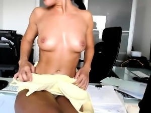 Work done, these two decide to get naked and suck and fuck