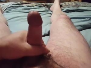 Masturbation with Cum Shot