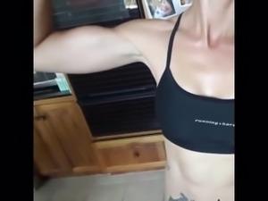 Short Girl Muscle Flexing Mix