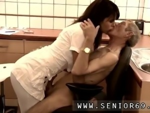 Old man home and milf fucks After some brief test the endurance test is