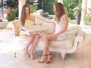 Check my dress by Sapphic Erotica - Capri Anderson and