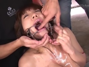 Miku Aihara Mouthful of Meat (Uncensored JAV)