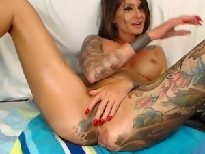Dildo, Tattooed, Tattooed-girl