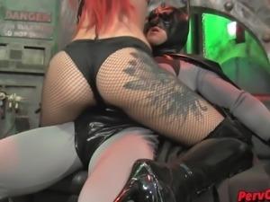GoGo Girls VS Batman FEMDOM SUPERHEROINE CBT DANCING