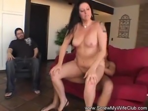 Latina Housewife Tries Swinging