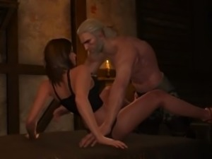 Sex with Bertha #1 in The Witcher 3: Wild Hunt