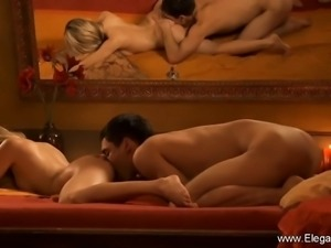 Anal Sex Sensation from Blonde MILF