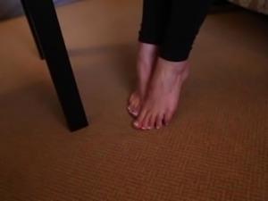A Tough Girl Ex-Gymnast Gets Tickle-Broken
