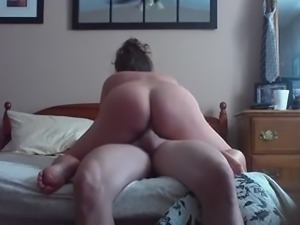 housewife riding in the morning