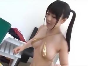 Japanese cute girl big boobs Luna (compilation)