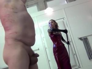 Jennifer Cruel Goddess hard whipping