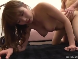 Hosaka climbed on top of me and wrapped her pussy lips around my cock. She...