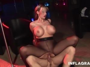 Huge breasted German stocking fetish