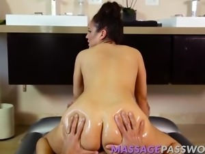 Big ass babe rides a big cock like a pro