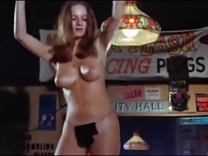 PLEASE ME - vintage perfect tits oiled dance tease 60s