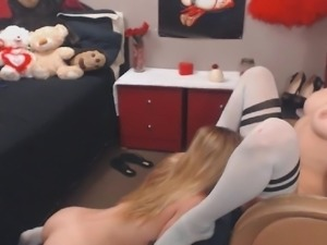 Horny Babes Having A Great Lesbian Sex