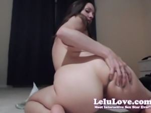 Lelu Love-WEBCAM: Sybian Riding With Dildo Attachment
