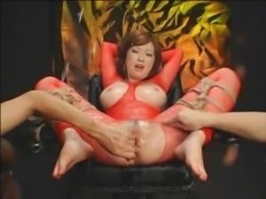 Rio Hamasaki orgasmed and squirting PMV