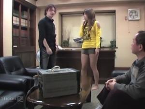 Misaki Aiba's Punishment Time (Uncensored JAV)