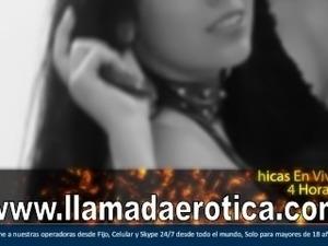 Marisa, una española joven caliente, escucha como ella viene.