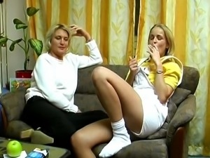 Blond German Amateur solo
