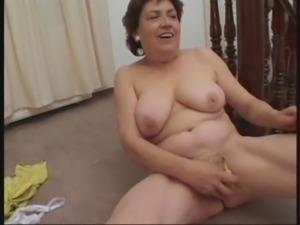 Granny and her Banana