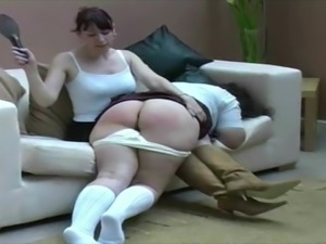 Spanking a Big Butt