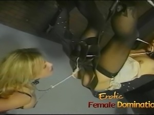 Really sexy mistresses have fun playing with