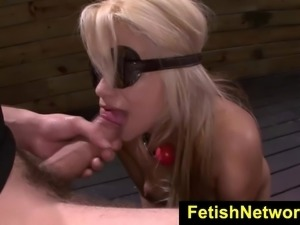 FetishNetwork Alice Amore cock gagging