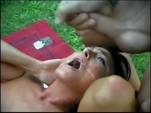 sexy italian woman outdoor fun