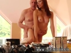 Horny old couple seduce and old young fantasy He was hired to do her