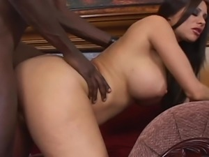 MILF takes huge nigger cock in ass hole