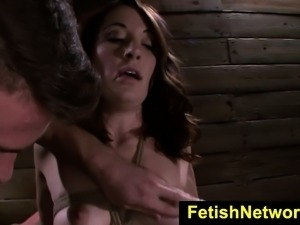 FetishNetwork Marley Blaze rope bound