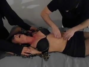 MILF Strip tickle