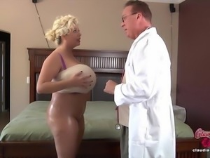 Claudia Marie Gets Her Fake Tits Back!
